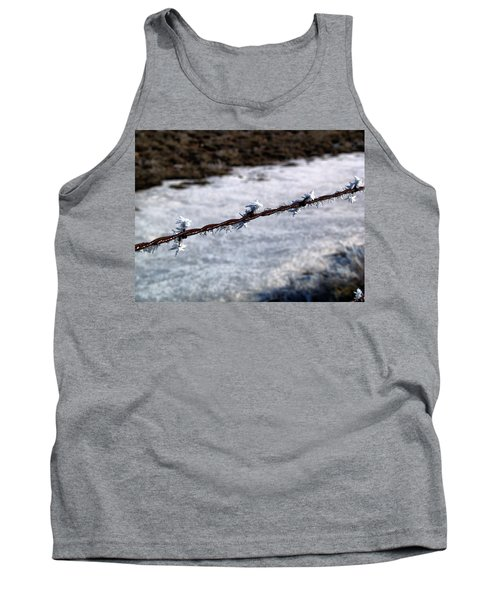 Frosty Barb Wire Tank Top