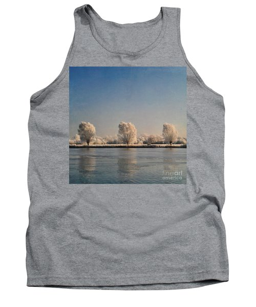 Frozen Lake Tank Top by Lyn Randle