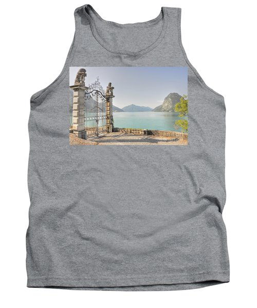 Gate On The Lake Front Tank Top
