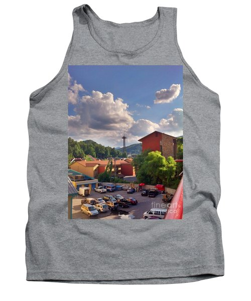 Tank Top featuring the photograph Gatlinburg Tn by Janice Spivey