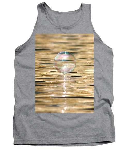 Golden Bubble Tank Top