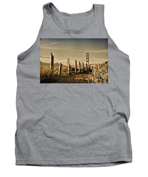 Golden Gate Bridge - 3 Tank Top
