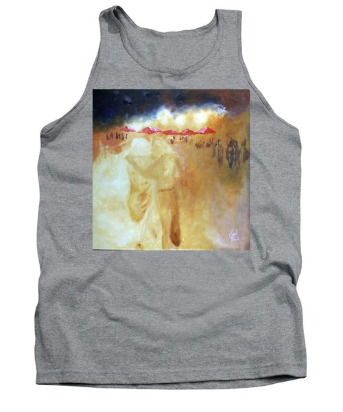 Golden Memories Tank Top by Keith Thue