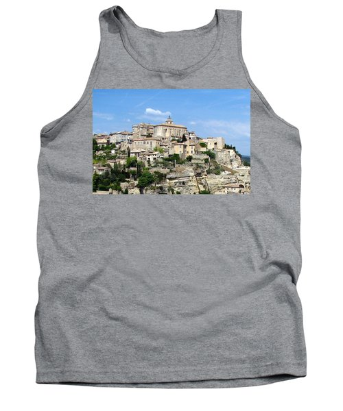 Tank Top featuring the photograph Gordes In Provence by Carla Parris
