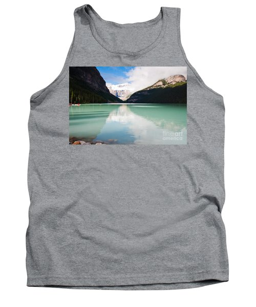 Tank Top featuring the photograph Gorgeous Lake Louise by Cheryl Baxter
