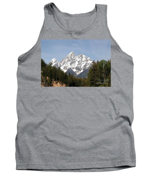 Tank Top featuring the photograph Grand Tetons by Living Color Photography Lorraine Lynch