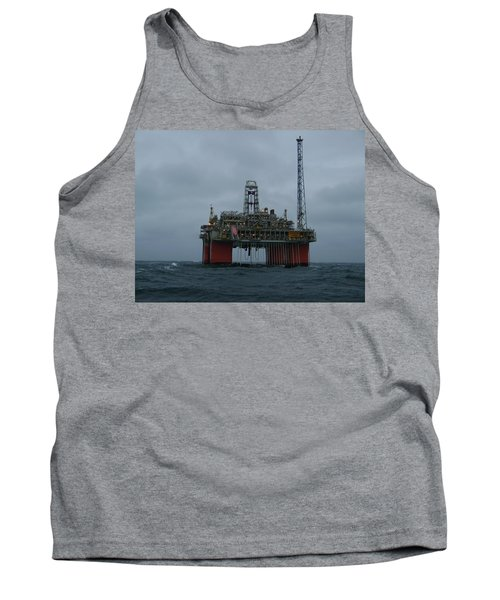 Grey Day At Snorre Tank Top