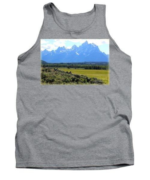 Grizzly Country With Soft Vignette Tank Top
