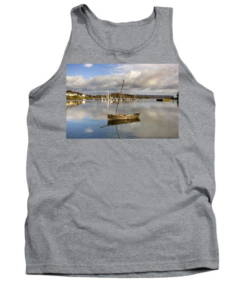 Harbour In Tarbert Scotland, Uk Tank Top