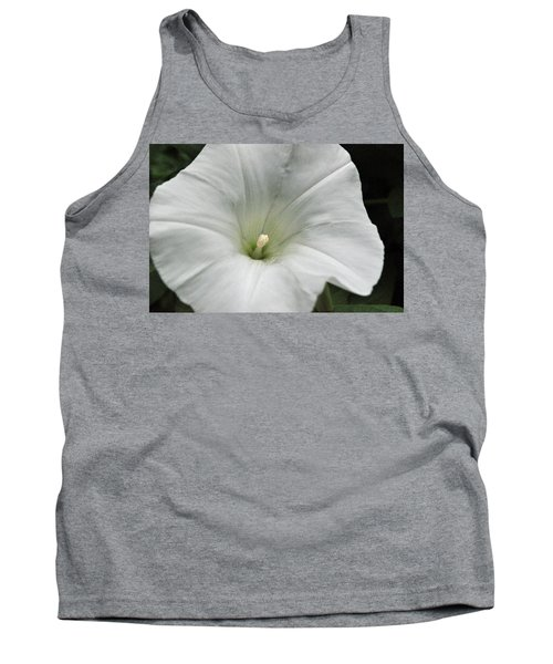 Tank Top featuring the photograph Hedge Morning Glory by Tikvah's Hope