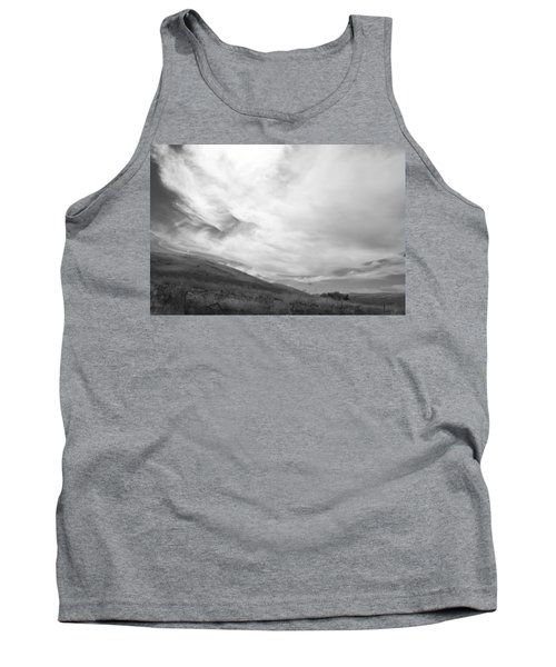 Tank Top featuring the photograph Hillside Meets Sky by Kathleen Grace