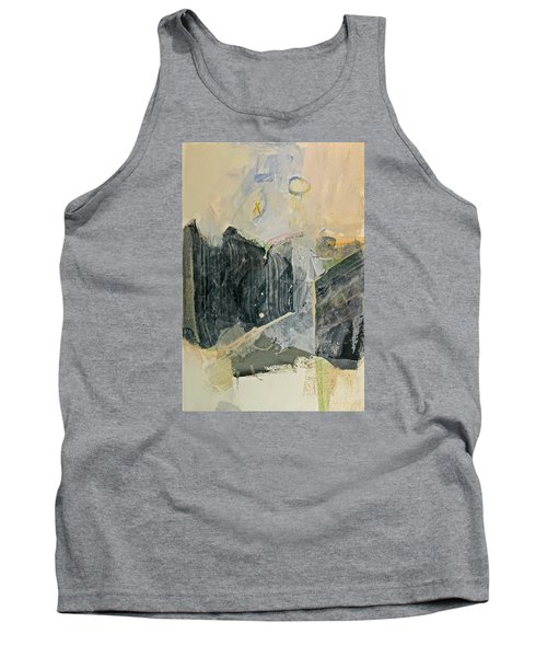 Hits And Mrs Or Kami Hito E  Detail  Tank Top by Cliff Spohn