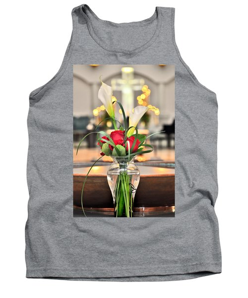 Holy Water Tank Top by Brian Duram