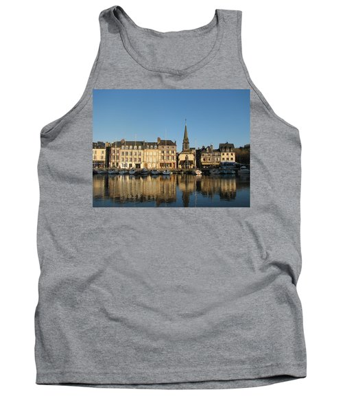 Tank Top featuring the photograph Honfleur  by Carla Parris