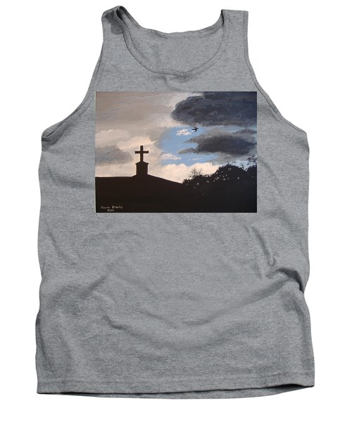 Tank Top featuring the painting Hope In The Storm by Norm Starks