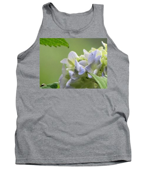 Tank Top featuring the photograph Hydrangea Blossom by Katie Wing Vigil