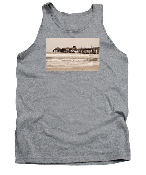 Tank Top featuring the photograph Imperial Beach by Rima Biswas