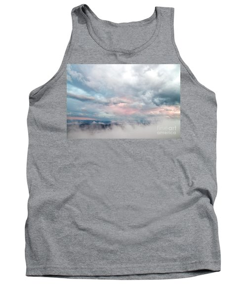 In The Clouds Tank Top by Jeannette Hunt