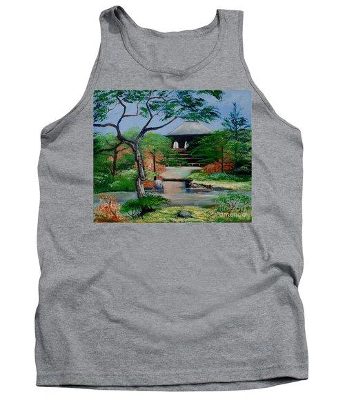 Jardin Japonais  Tank Top