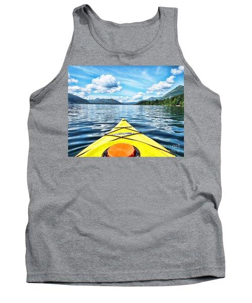 Kayaking In Bc Tank Top