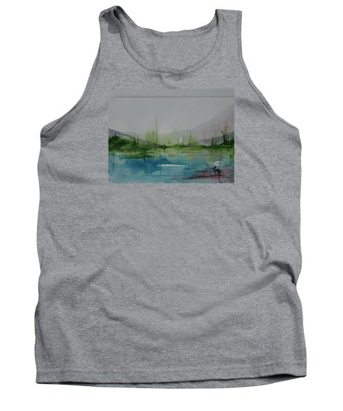 Lake Study 3 Tank Top by Robin Miller-Bookhout