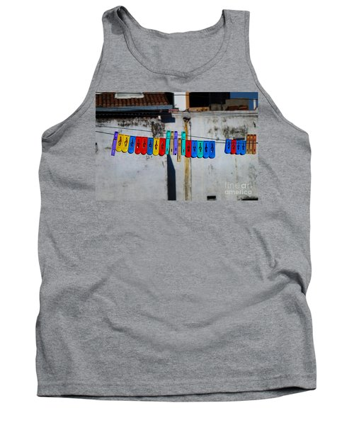Laundry Clips Tank Top