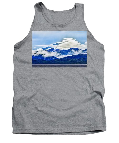 Lenticular And The Chugach Mountains Tank Top