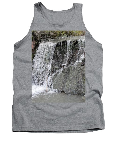 Tank Top featuring the photograph Let It Flow by Tiffany Erdman