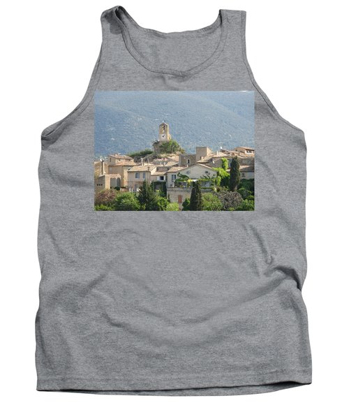 Tank Top featuring the photograph Lourmarin In Provence by Carla Parris