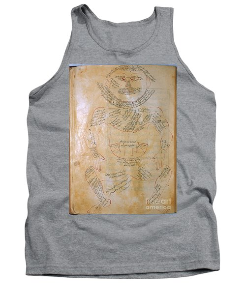 Mansurs Anatomy, Muscle System, 15th Tank Top