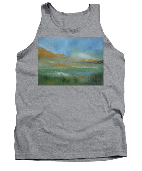 Misty Morning Tank Top by Judith Rhue