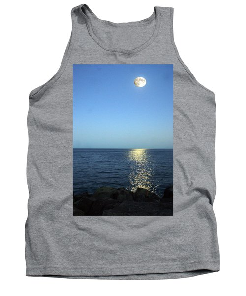 Moon And Water Tank Top
