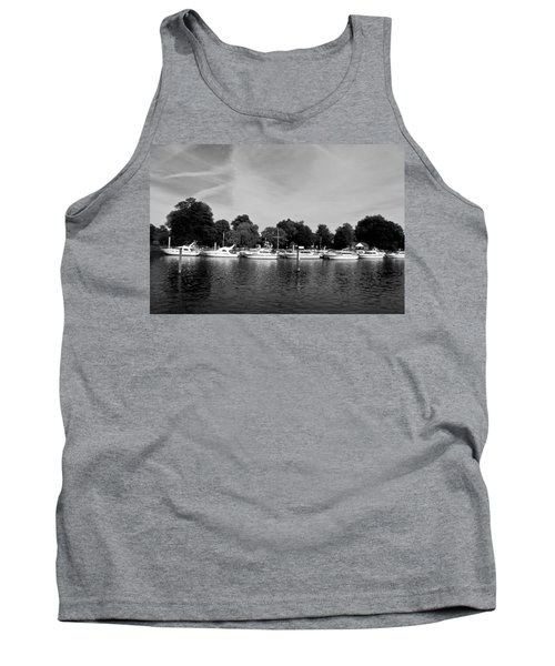 Tank Top featuring the photograph Mooring Line by Maj Seda