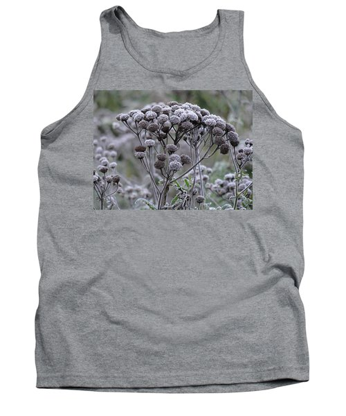 Tank Top featuring the photograph Morning Frost by Tiffany Erdman