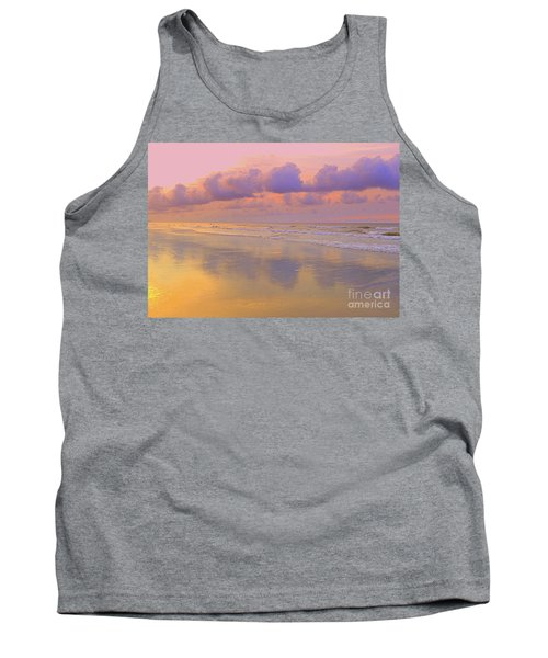 Tank Top featuring the photograph Morning On The Beach  by Lydia Holly