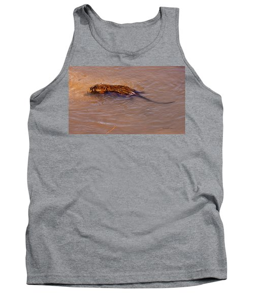 Muskrat Swiming Tank Top