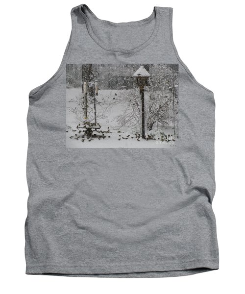 Tank Top featuring the photograph My Backyard by Donna Brown