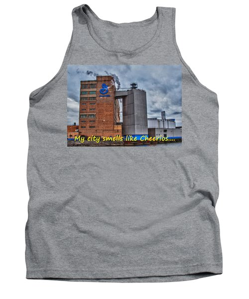 My City Smells Like Cheerios Tank Top