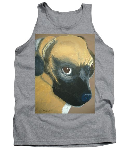 Tank Top featuring the painting My Name Is Attitude by Norm Starks