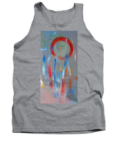 Native American Abstract Tank Top by Charles Stuart