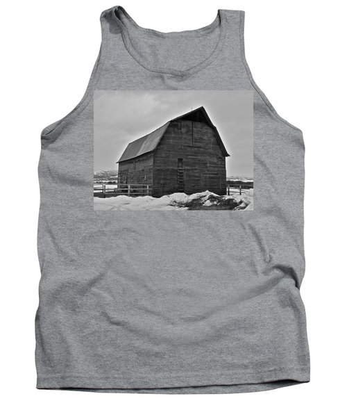 Tank Top featuring the photograph Noble Barn by Eric Tressler