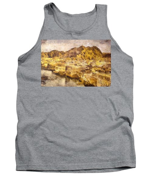 Old City Of Muscat Tank Top