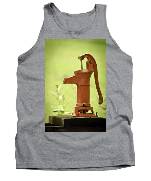 Old Fashioned Water Pump Tank Top