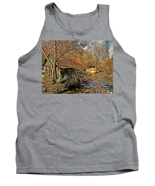 Old Home On A River Tank Top