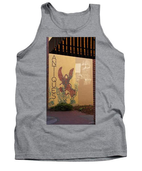 Tank Top featuring the photograph Old Town Grants Pass Detail by Mick Anderson