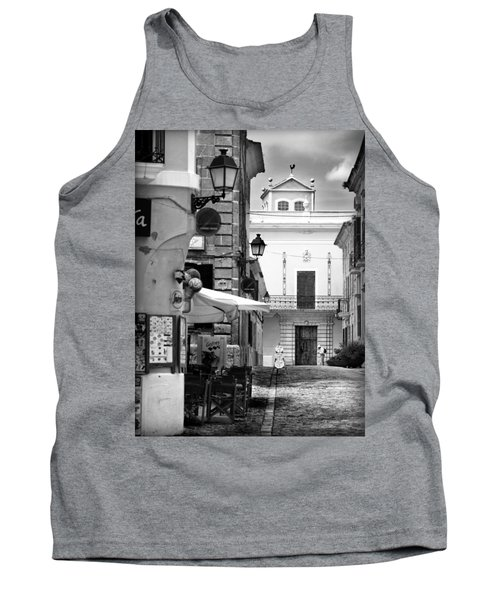 Tank Top featuring the photograph Old Town by Pedro Cardona
