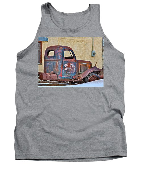 Old Truck Tank Top by Johanna Bruwer