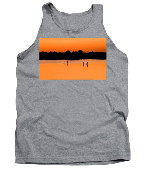 Orange Sunset Florida Tank Top