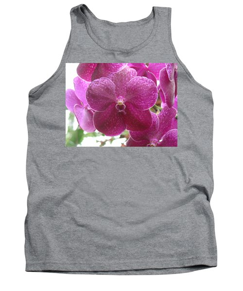 Orchid Cluster Tank Top
