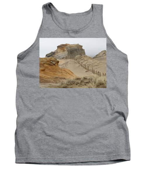 Tank Top featuring the photograph Oregon Sand Dunes by Athena Mckinzie